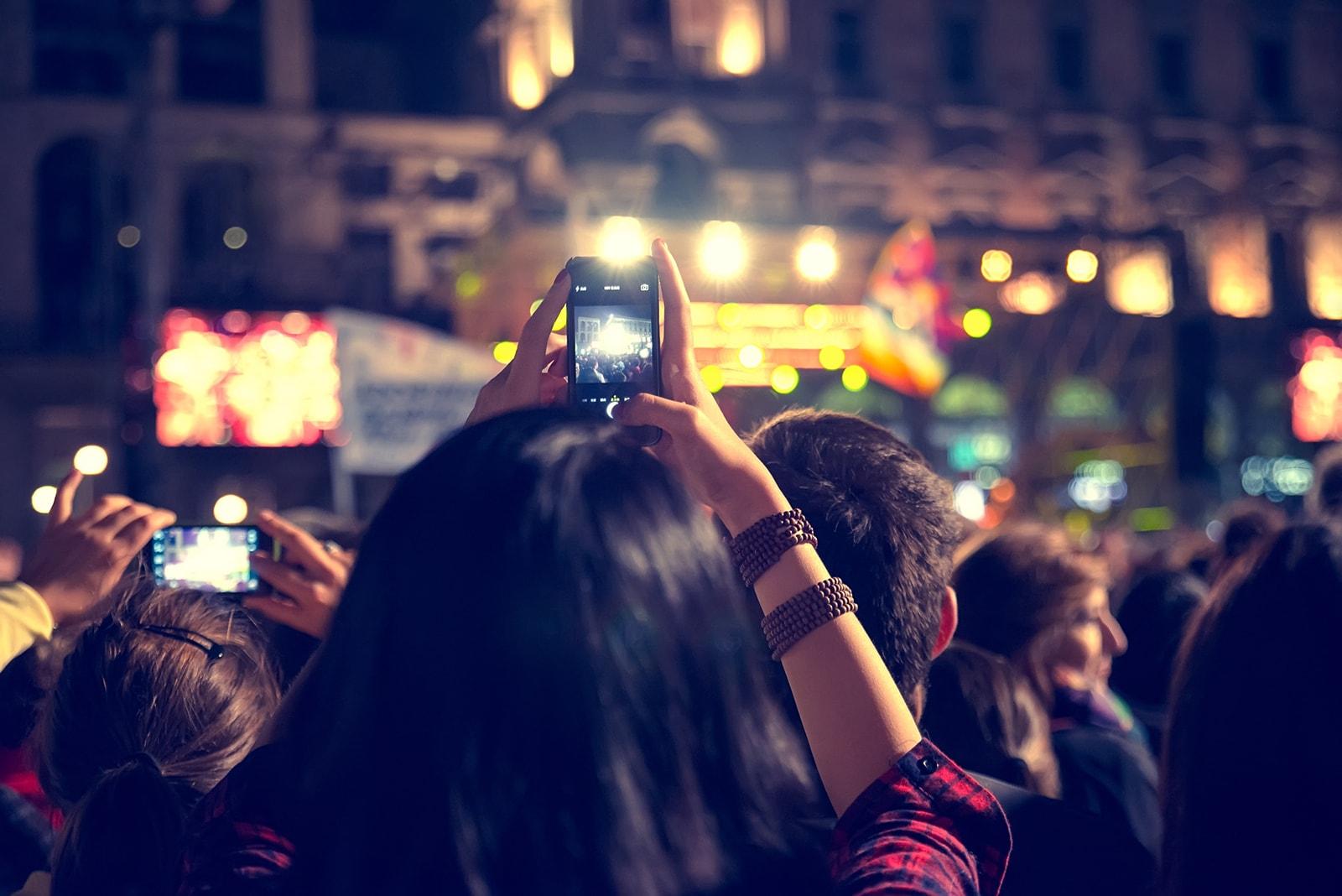 The Major Social Media Sites