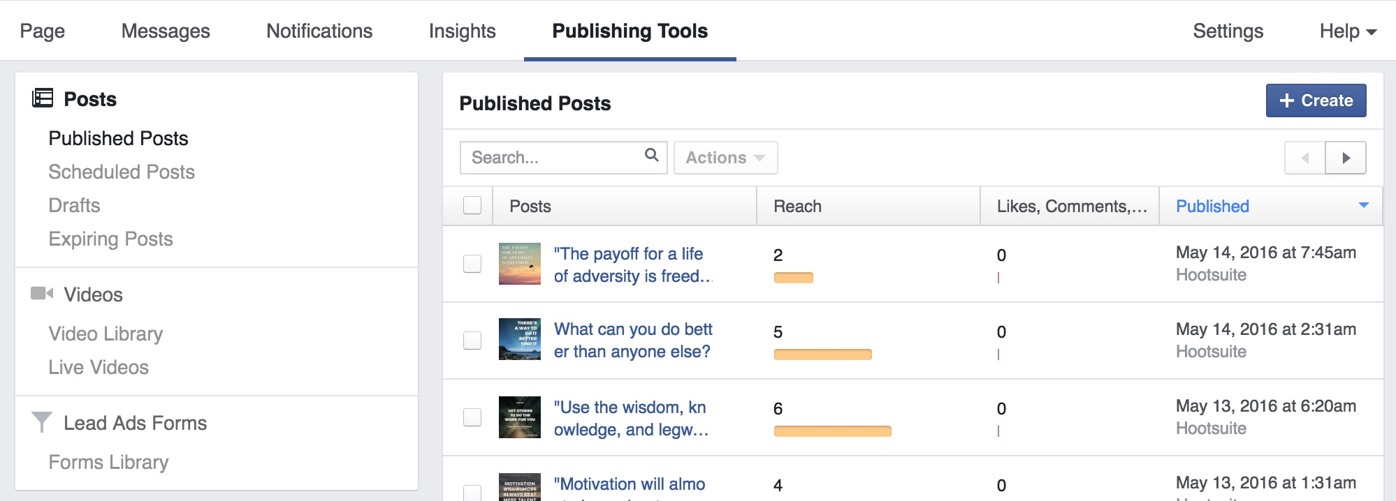 Publishing Tools