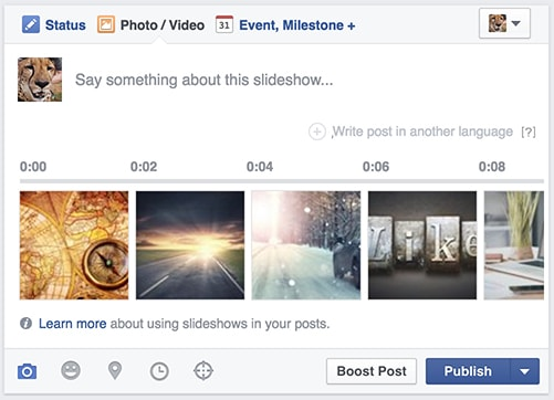 Create a Slideshow