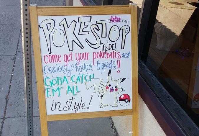 Pokemon Go Sign
