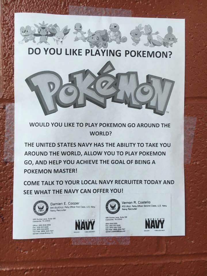 Pokemon Go Navy