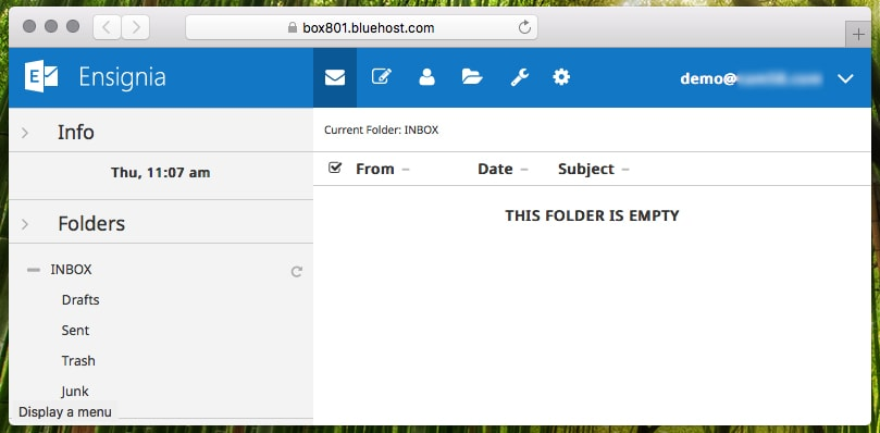Ensignia Email Client